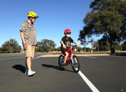 Will learning to ride a bike for the first time