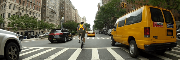 cycling in manhattan